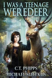 I Was a Teenage Weredeer (Bright Falls Mysteries #1)