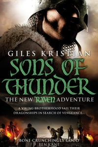 Sons of Thunder (Raven #2) by Giles Kristian - Book Review