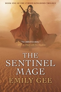 The Sentinel Mage (The Cursed Kingdoms #1) by Emily Gee - book review