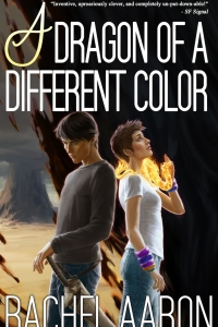 A Dragon of A Different Color (Heartstrikers, #4)