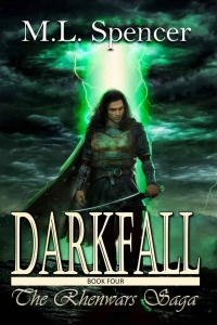 Darkfall (Rhenwars Saga #4) by M.L. Spencer Book Review