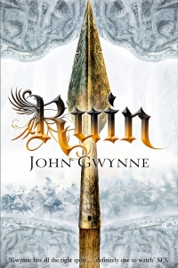 Ruin (The Faithful and the Fallen #3) by John Gwynne - Book Review