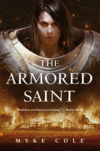 The Armored Saint (The Sacred Throne #1)