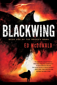 Blackwing (Raven's Mark #1) by Ed McDonald - Book Review