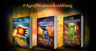 Read-a-long for Joe Abercrombie's The Age of Madness Trilogy
