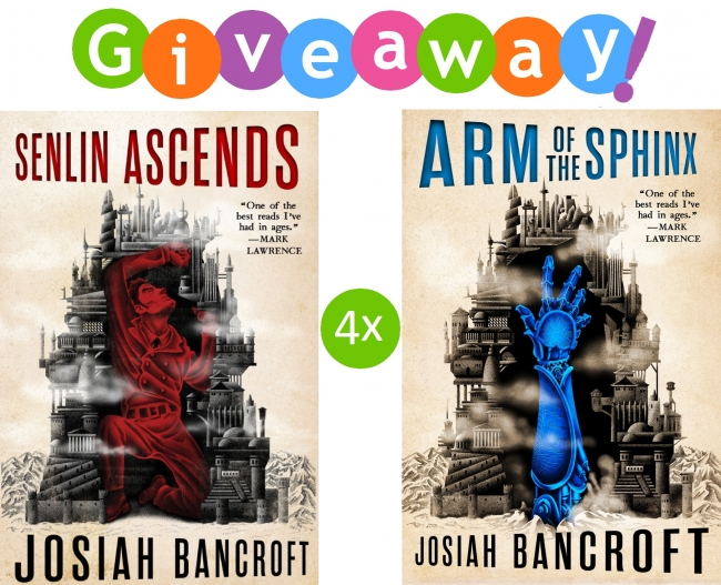 The Books of Babel - International Giveaway!