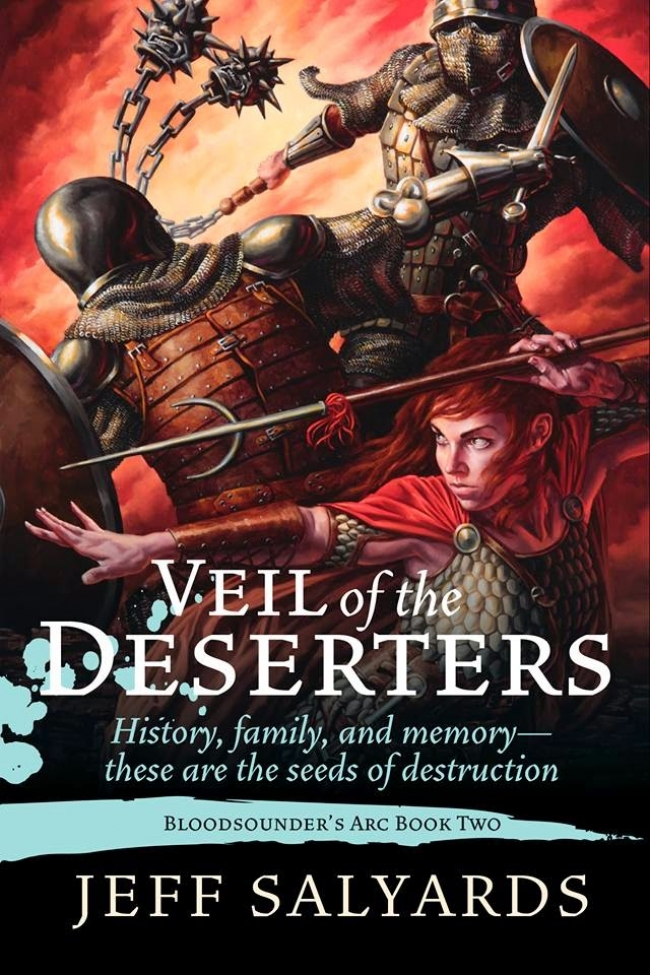 Veil of the Deserters (Bloodsounder's Arc #2)