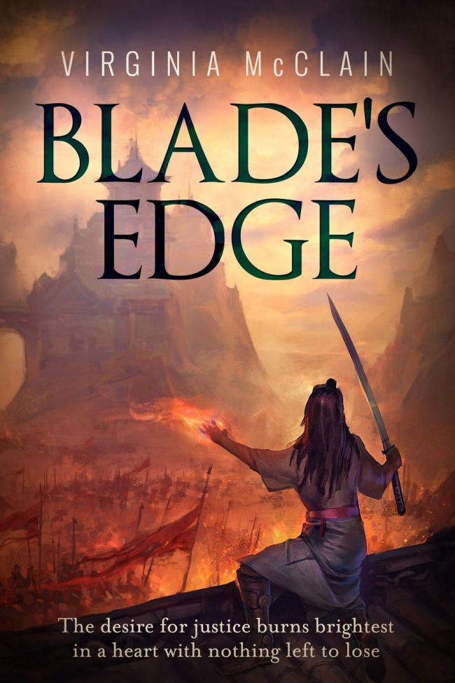 Blade's Edge by Virginia McClain – #SPFBO Finalist Book Review