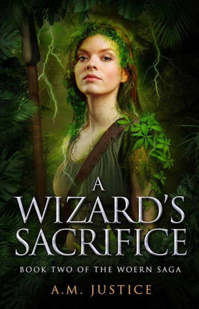 A Wizard's Sacrifice (The Woern Saga #2) by A.M. Justice Book Review