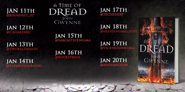Interview with John Gwynne #2 (A Time of Dread Blog Tour)