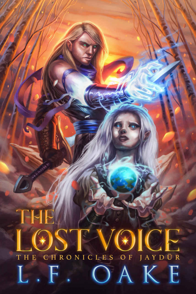 The Lost Voice (The Chronicles of Jaydur #1)