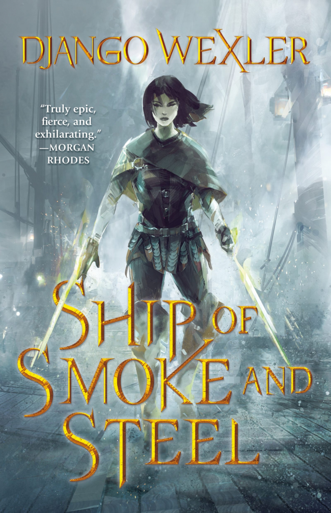 Ship of Smoke and Steel (Wells of Sorcery Trilogy #1)
