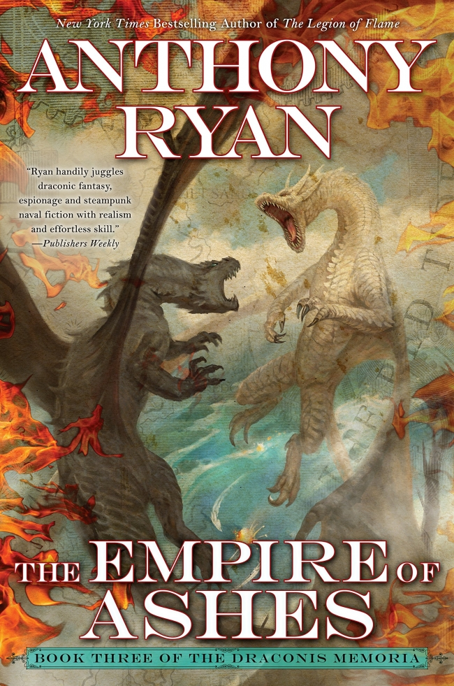 The Empire of Ashes (Draconis Memoria #3)