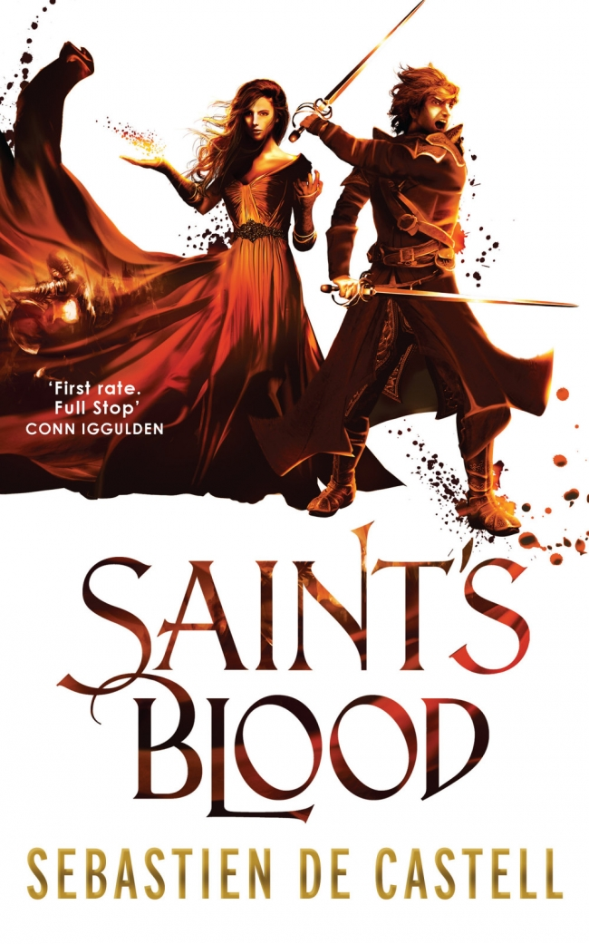 Saint's Blood (Greatcoats #3)