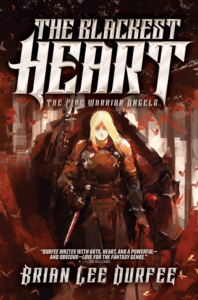 The Blackest Heart (Five Warrior Angels #2)