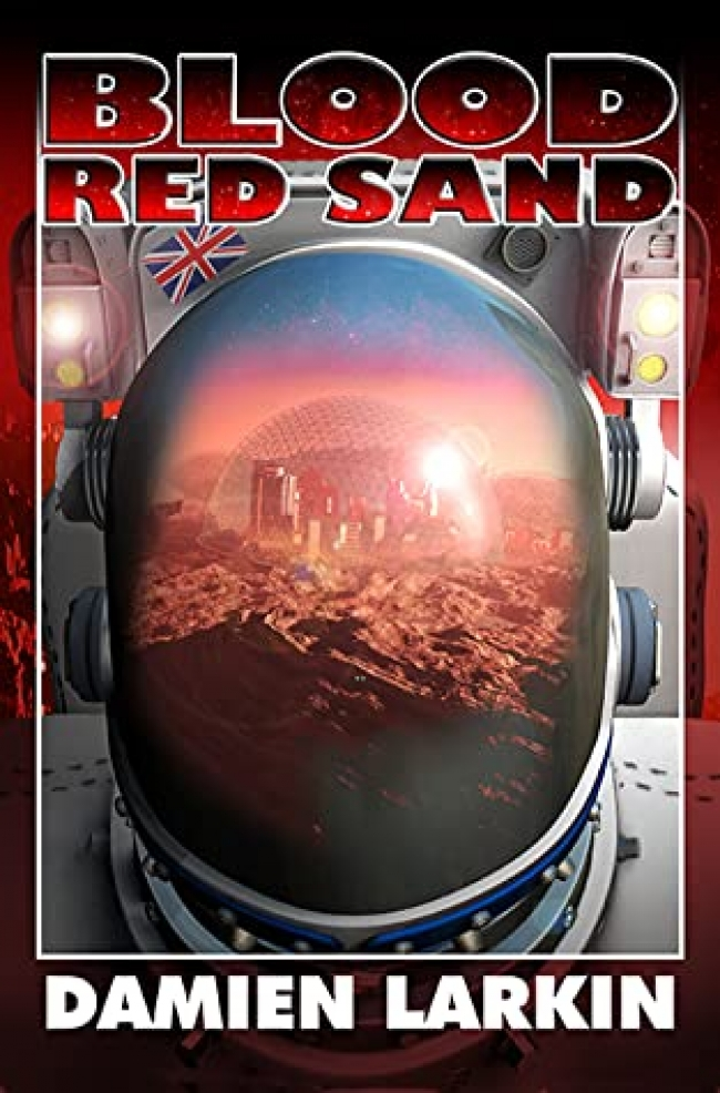 Blood Red Sand by Damien Larkin - Book Review