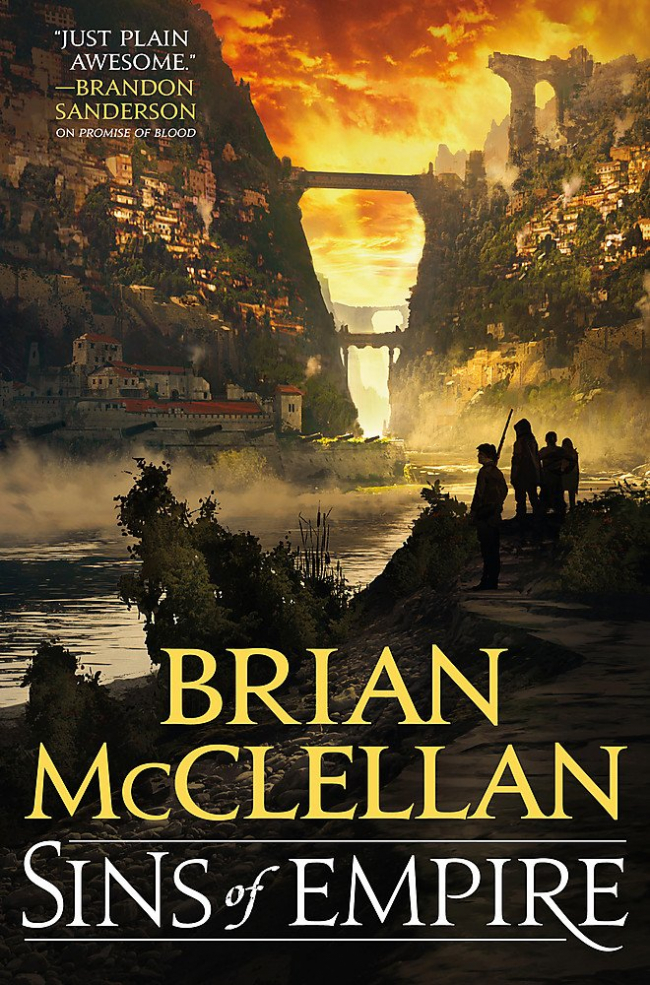 Sins of Empire (Gods of Blood and Powder #1) by Brian McClellan - Book Review