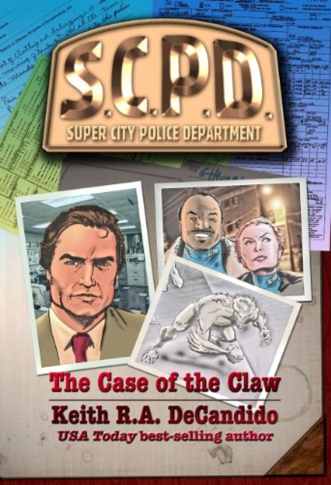 SCPD: The Case of the Claw (SCPD #1) by Keith R.A. Decandido Book Review