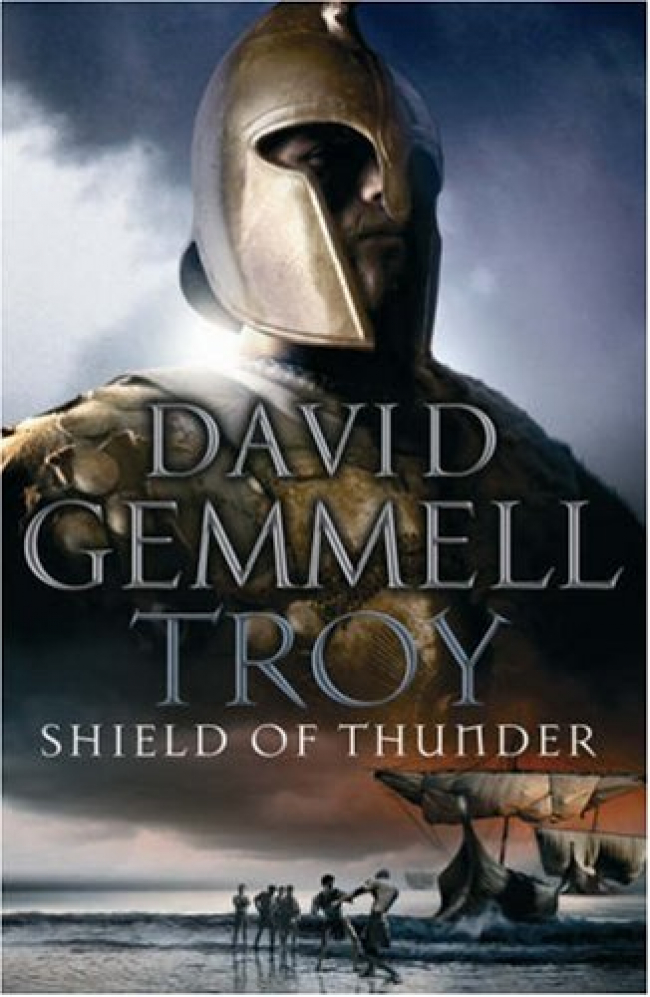 Shield of Thunder (Troy #2) by David Gemmell