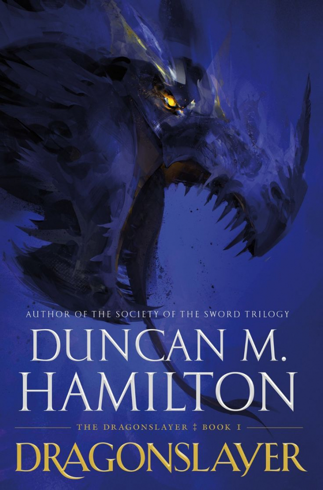 Dragonslayer (The Dragonslayer #1) by Duncan M. Hamilton - Book Review
