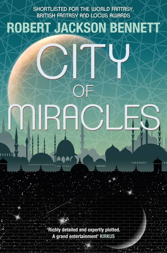 City of Miracles (The Divine Cities #3)
