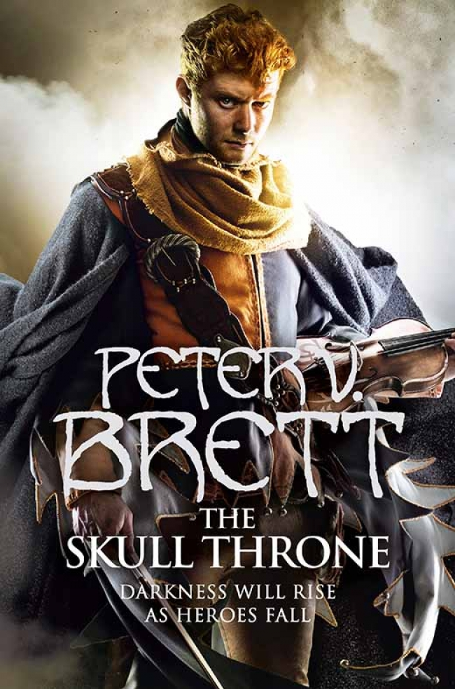 The Skull Throne (Demon Cycle #4)